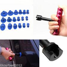 Car Metal Dent Removal Repair Tools Kit Puller Lifter T-Bar Hand Puller 18X TABS