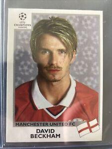 Panini UEFA Champions League 1999/00 #129 David Beckham  Sticker MINT