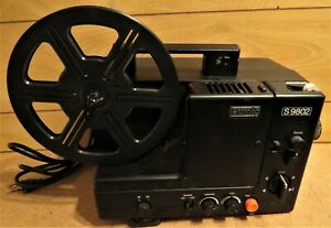 Eumig S9802 Super 8 Sound projector tested partly nice condition