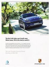 2013 Porsche Cayenne Diesel Original Advertisement Print Art Car Ad J897