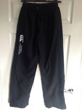 Mens Canterbury Football Rugby Running Training Fitness Trousers Pants S Black