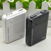 USB 4 AA Battery Power Emergency Charger for Android Cell Phone iPhone Portable