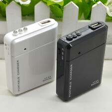 Pro LED USB 4 AA External Battery Emergency Power Charger For Phone Mp4 Safe