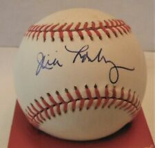 Jim Lonborg Autographed OAL Baseball.. JSA Authentication
