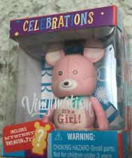 It's a Girl Baby Celebrations VINYLMATION Disney & Jr  Mickey Mouse Ears New Box