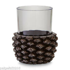Essential Home Resin Wild Lodge Bathroom Tumbler