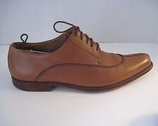 Vtg Georges Hand Made in Spain Leather Mens Dress Shoes Light Brown Tan Size 9.5