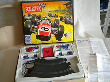 Vintage Scalextric Set French 30GT with Lotus C32s