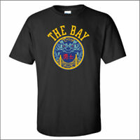 Golden State Warriors The Bay Chinese Heritage Black Unisex T-Shirt S-3XL