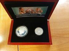 Nederland - Combiset 2006 '400 jaar Nederland - Australië' zilver