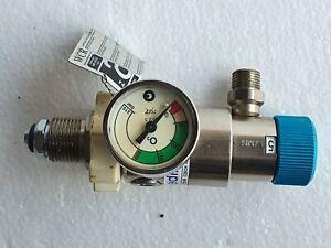 GCE MEDISELECT Medical O2 Oxygen Regulator 200 Bar 15 l/min