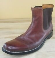 Mens COLE HAAN Chelsea Boots Size 13 M Used Brown Leather C07621 Slip On