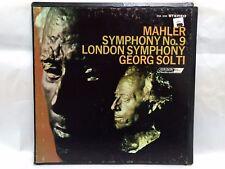 Mahler Symphony No.9 London Symphony Georg Solti-2LP Record Box Set        lp129
