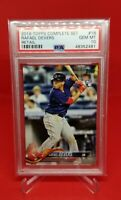 2018 Topps Complete Set #18 Rafael Devers RC PSA 10 Gem Mint Rookie Red Sox