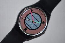 1988 Vintage Swatch Watch Gents GB-120 COCONUT GROVE Free Shipping Free Battery