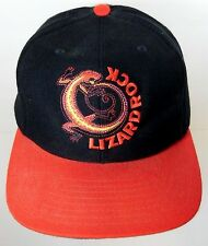 Vintage 1990s LIZARD ROCK MARLBORO CIGARETTE TOBACCO Logo ADVERTISING HAT CAP