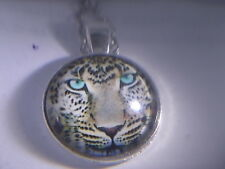 "AWSOME! Lepard Pendant & 18"" Necklace"