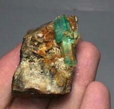 200 CT top color Emerald Crystal on Matrix Panjshir Afghanistan