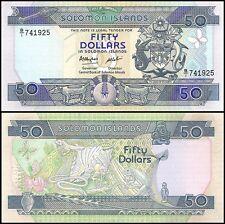 Solomon Islands 50 Dollars, 1986, P-17, UNC
