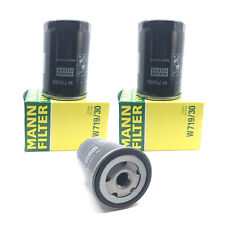 NEW Set of 3 Engine Oil Filters Mann W 719/30 for Audi 90 100 A4 200 TT S6 S4