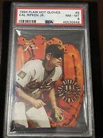 1994 Flair Baseball CAL RIPKEN JR HOT GLOVES DIECUT, NM-MT PSA 8, Orioles HOFER