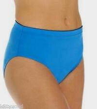M Beach Maidenform Hi Waisted Swim Bottom Small Women's Blue NEW $52