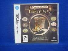 ds PROFESSOR LAYTON and the Curious Village Lite DSI 3DS Nintendo PAL