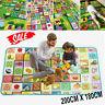 KIDS CRAWLING SOFT FOAM 2 SIDE EDUCATIONAL GAME PLAY MAT PICNIC CARPET 200X180CM