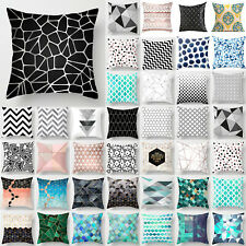 Home Geometric Cushion Cover Pillow Case Sofa Seat Throw Art Bed Room Decor