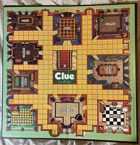 VINTAGE 1986 CLUE Game - Replacement Game Board
