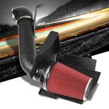 High Flow Black Cold Air Intake+Heat Shield+Filter For GMC 99-06 Yukon Denali