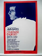 OTHERWISE ENGAGED Herald ALAN BATES / HAROLD PINTER Queen's Theatre LONDON 1975