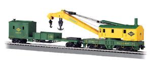 Bachmann 16110 HO Scale Reading - 250-Ton Steam Crane & Boom Tender