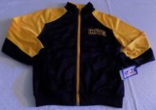 Cleveland Cavaliers Track Jacket Youth Medium Navy Yellow Embroidered Logos NBA