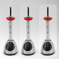 3x Dental Wireless Cordless LED Curing Light Lamp Orthodontics D8 2000mw/cm2 CE