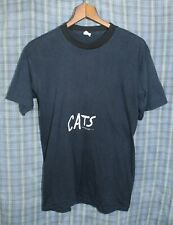 Vtg 1981 1980's Cats Broadway Musical Play Theater T-shirt Large Made in USA