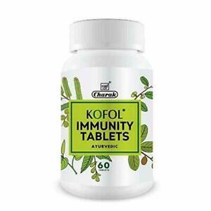 Charak Ayurveda KOFOL Immunity Tablets ( 60 Tablets) | Herbal | Free Shipping