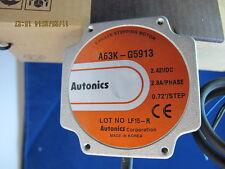 Autonics Stepper Motor A63K-G5913 5PFE4 5-Ph, 34 Fr, Shaft Type, 2.8A [B1BC]