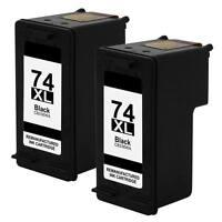 2p 74XL Black Ink Cartridge fit for HP Officejet J6413 J6415 J6488