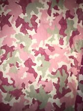 "4 Panels Pink Camo Curtains 50""x 63""L"