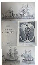 Les derniers corsaires  Dunkerque 1715-1815 par H Malo