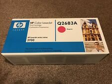 Genuine HP LaserJet Q2683A Magenta Toner Cartridge Sealed Box HP3700