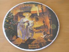 Norman Rockwell Christmas 1979 Collector Plate Somebody's Up There Knowles