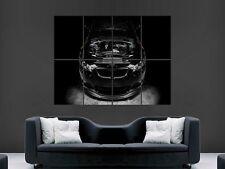 BMW M3 moteur poster mural art image grand géant
