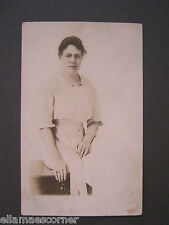 Vintage Real Photo Post Card of Woman 1918-1930