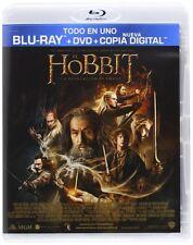 EL HOBBIT LA DESOLACION DE SMAUG BLURAY+DVD+COPIA DIGIT BLU RAY NUEVO CASTELLANO