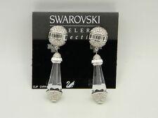 Swarovski Crystal Jewelry Clip Earrings Made in Austria