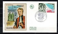 France - 1970 Discovery of kinine -  Mi. 1703 FDC (silk)