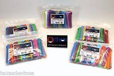 Elastic Orthodontic Ligature Ties Bands Assorted Color Kit Pack /5 1040 ORTHOM