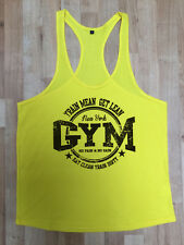 MMA Gym Bodybuilding Motivation Vest Best Workout Clothing Training Top New York